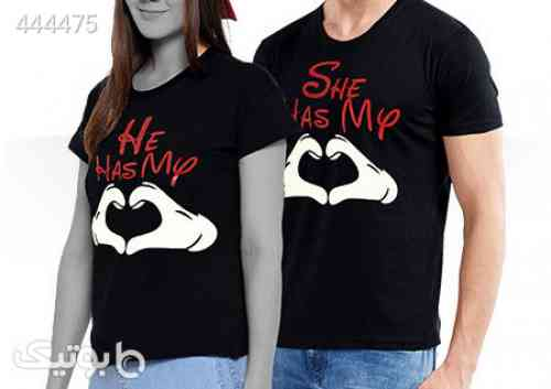 ست تی شرت مردانه و زنانه Romantic: مشکی 99 2020