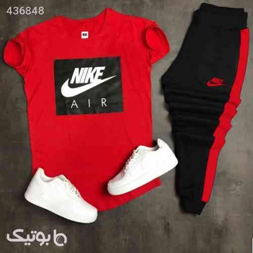 ست تیشرت وشلوار مردانه Nike مدل Zilan مشکی 99 2020
