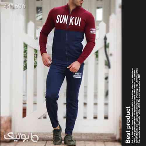 ست سویشرت و شلوار مدل SUNKUI سورمه ای 99 2020