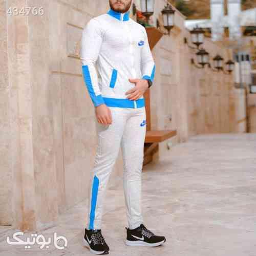 ست سویشرت و شلوار مردانه Nike مدل Lukas آبی 99 2020