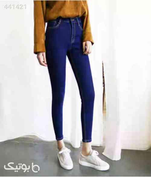 شلوار جین دخترانه  سورمه ای 99 2020