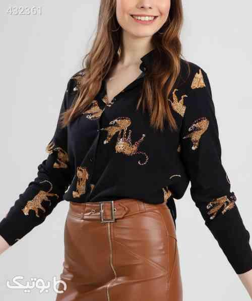 پیراهن آستین بلند برش راحت مشکی زنانه برند Y-London کد 158659736 مشکی 99 2020