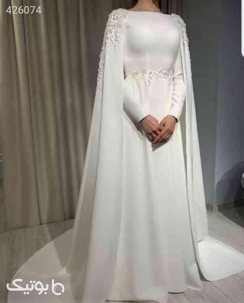 لباس عروس ۷۶۰ساتن امریکایی وگیپور اپلیکه سبز 99 2020