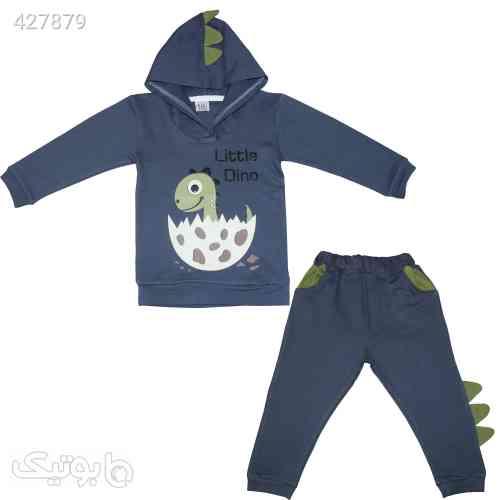 بلوز و شلوار داینو - لباس کودک پسرانه