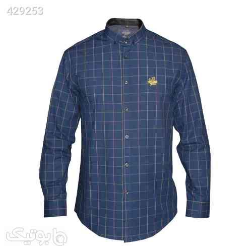 پیراهن مردانه اسپرت کد 1908047 سورمه ای 99 2020