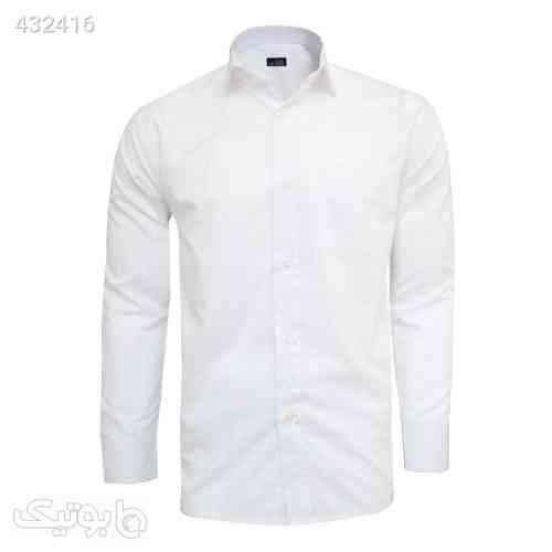 پیراهن مردانه نوید مدل TET-DAK کد 20294 رنگ سفید سفید 99 2020
