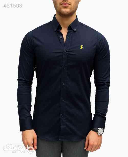 پیراهن مردانه Polo کد 5343 آبی 99 2020