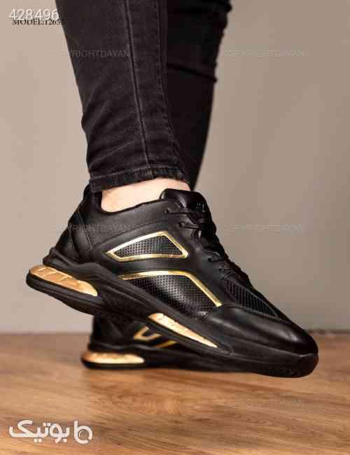 کفش مردانه Benson مدل 12655  زرد 99 2020