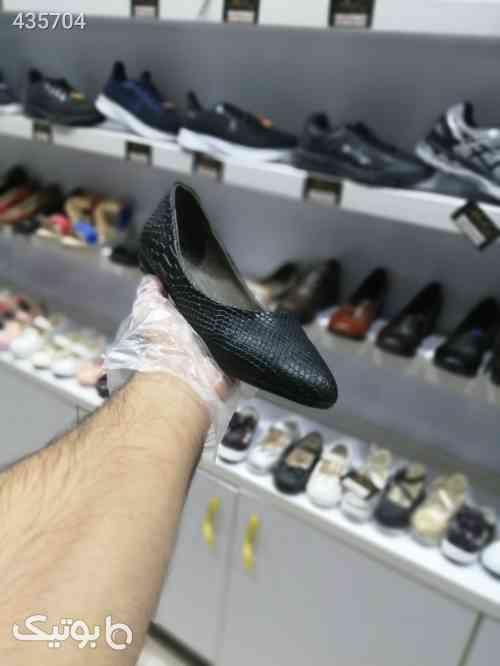 کفش کالج زنانه پوست ماری مشکی 99 2020