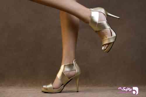 کفش زنانه هدیزاین مدل S24 زرد 99 2020