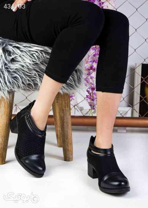 کفش شیک وخاص پاخورعالی راحت پاشنه۵سانت مشکی 99 2020