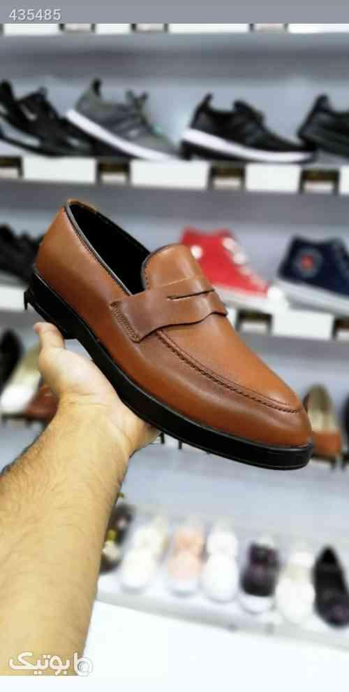 کفش مردانه کالج ساده  مشکی 99 2020