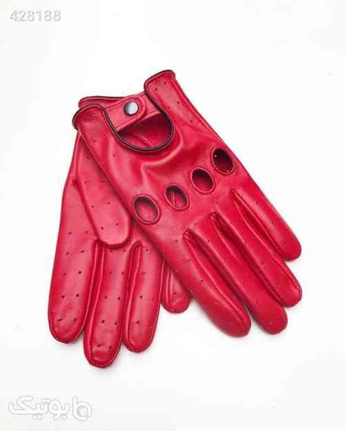 دستکش رانندگی چرم مون Kokkino defleron قرمز 99 2020