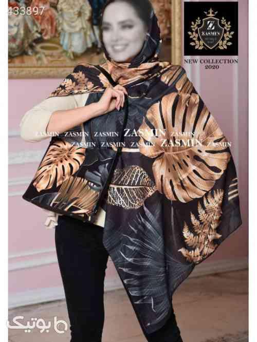 ست کیف و روسری قهوه ای 99 2020