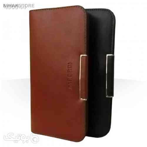 کیف چرم پول و موبایل لاکچری مشکی 99 2020