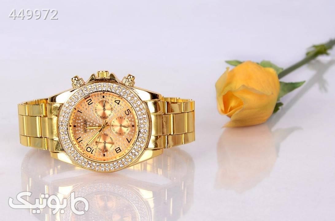 ساعت اسپرت رولکس طلایی زرد ساعت