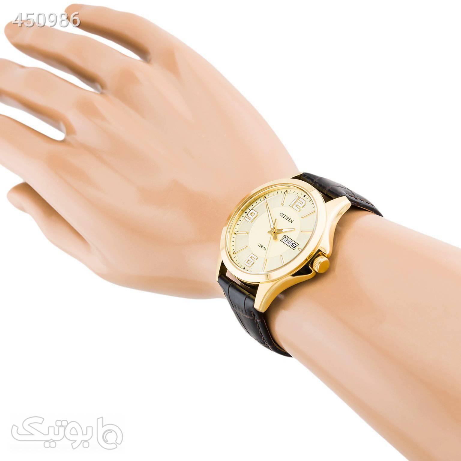 ساعت مردانه سیتی زن مدل BF2003-09P زرد ساعت