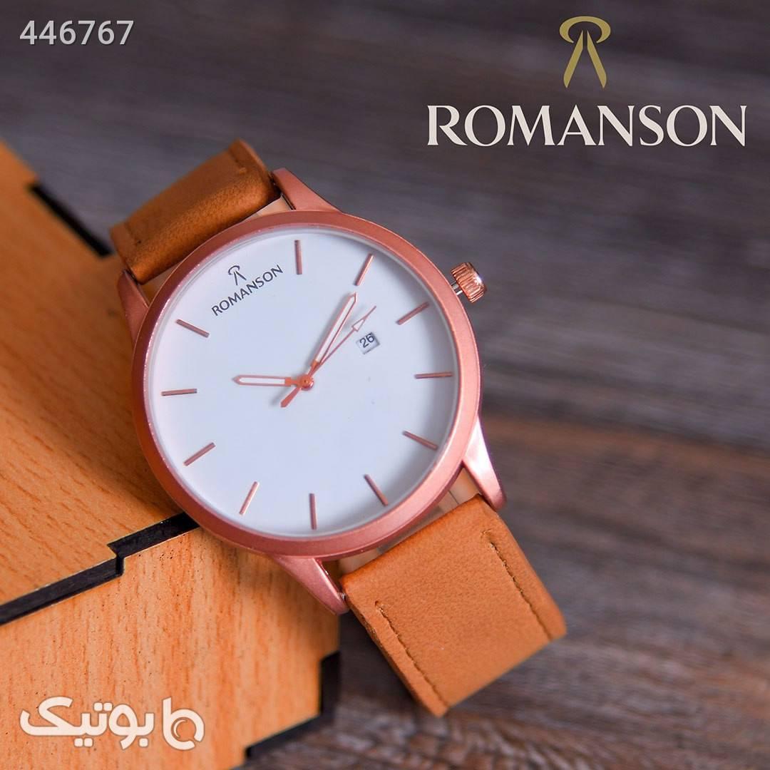 ساعت مچی مردانه Romanson مدل Anil قهوه ای ساعت