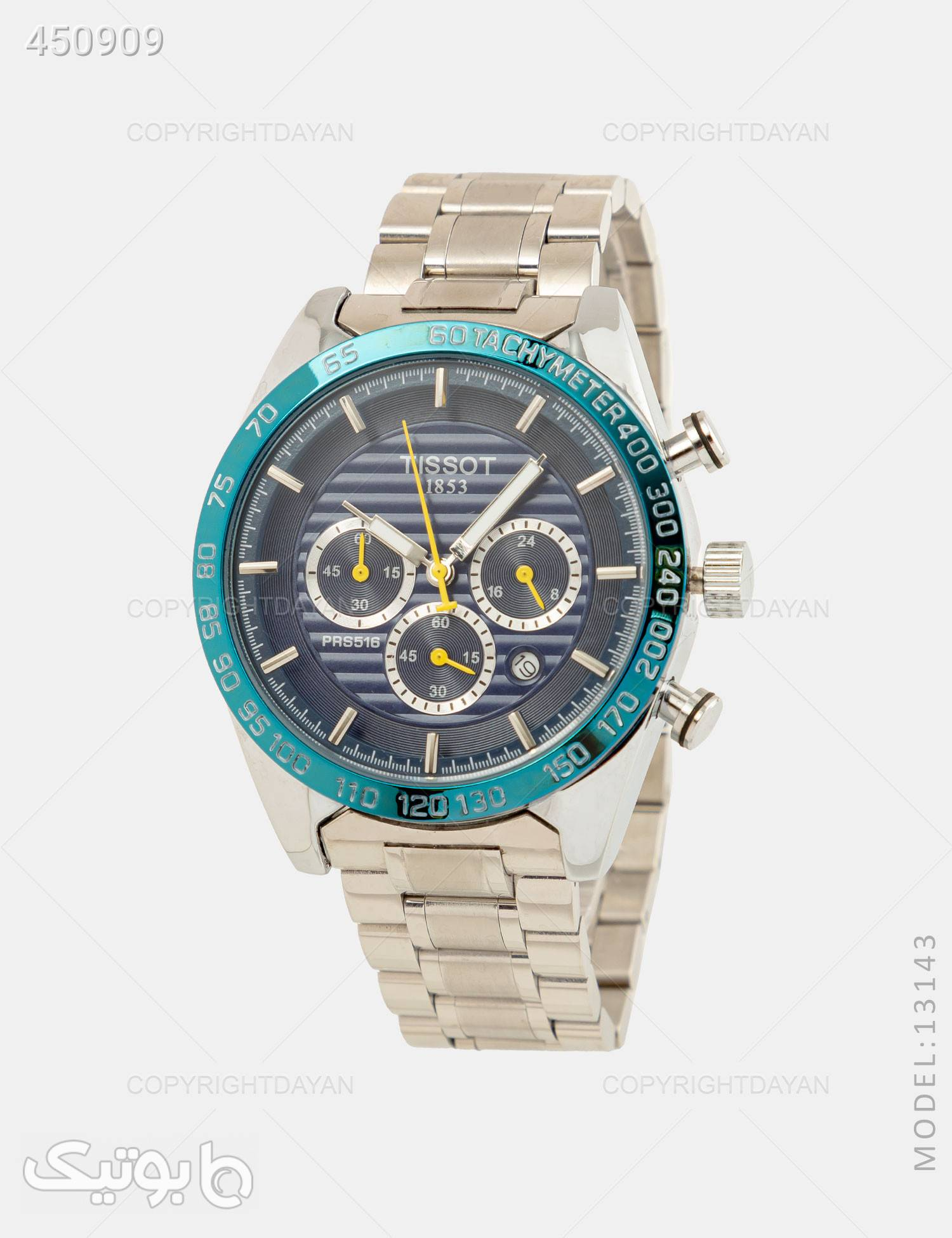 ساعت مچی مردانه Tissot مدل 13143 نقره ای ساعت