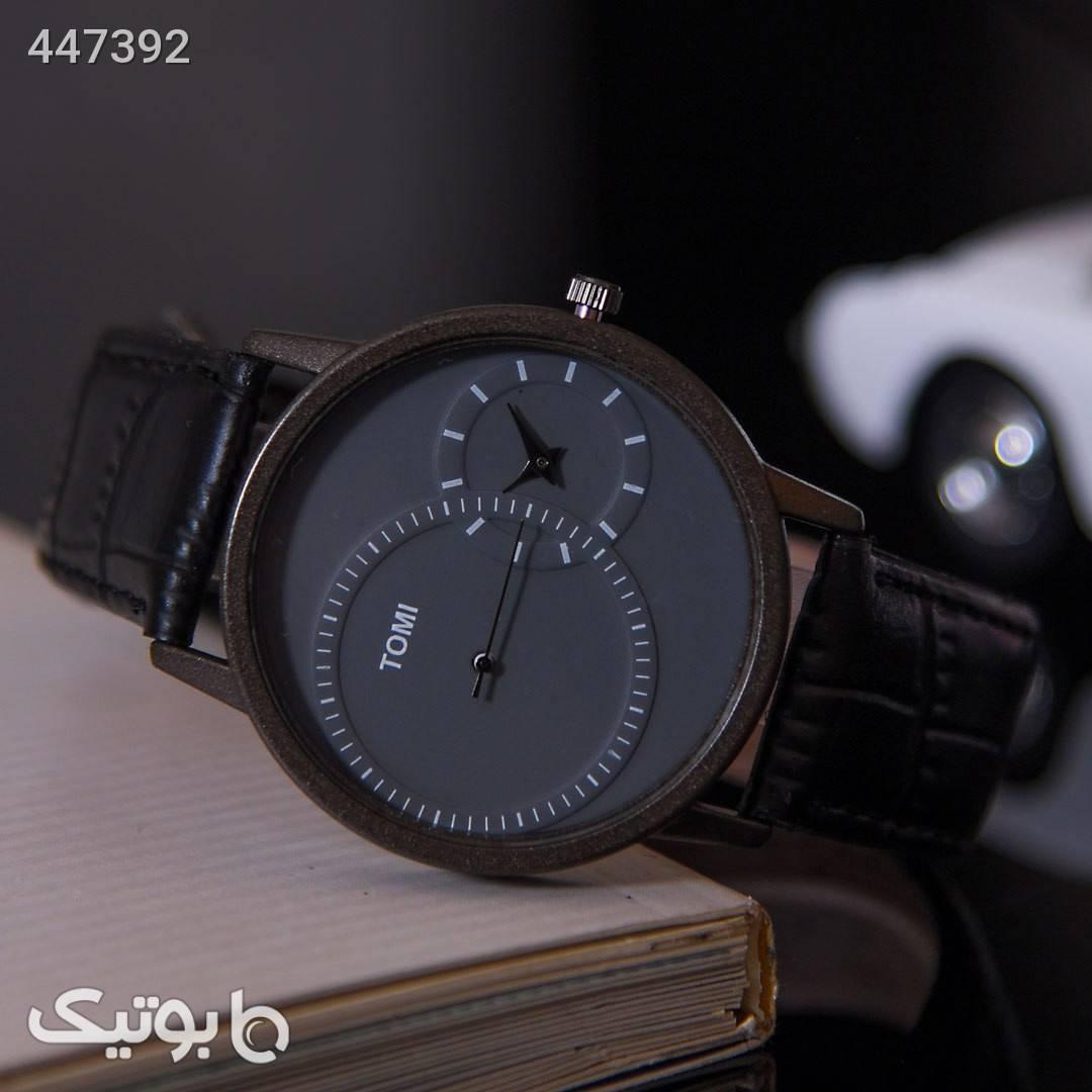 ساعت مچی مردانه Tomiمدل Noyan مشکی ساعت