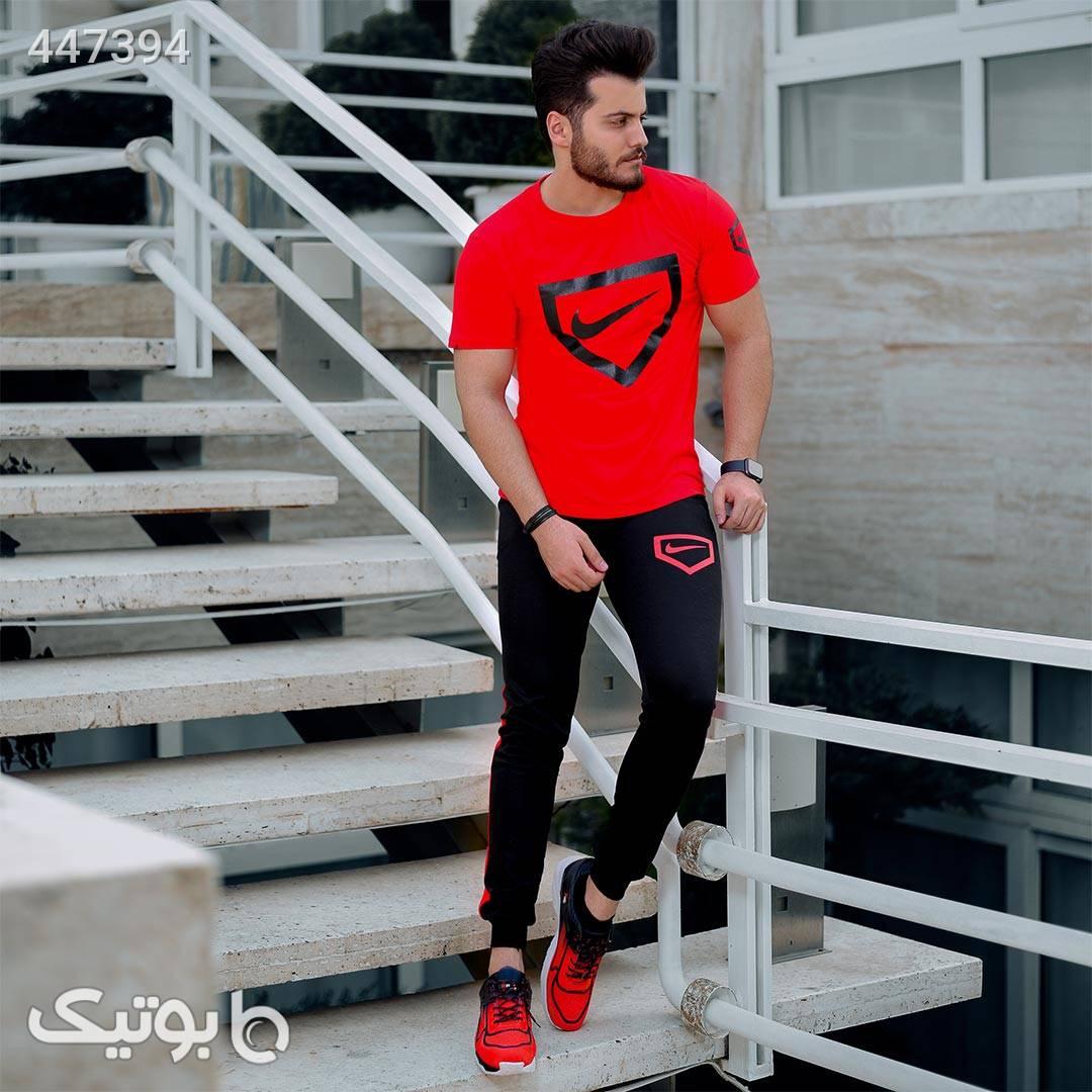 ست تیشرت و شلوار Nike مدل Hunter مشکی ست ورزشی مردانه