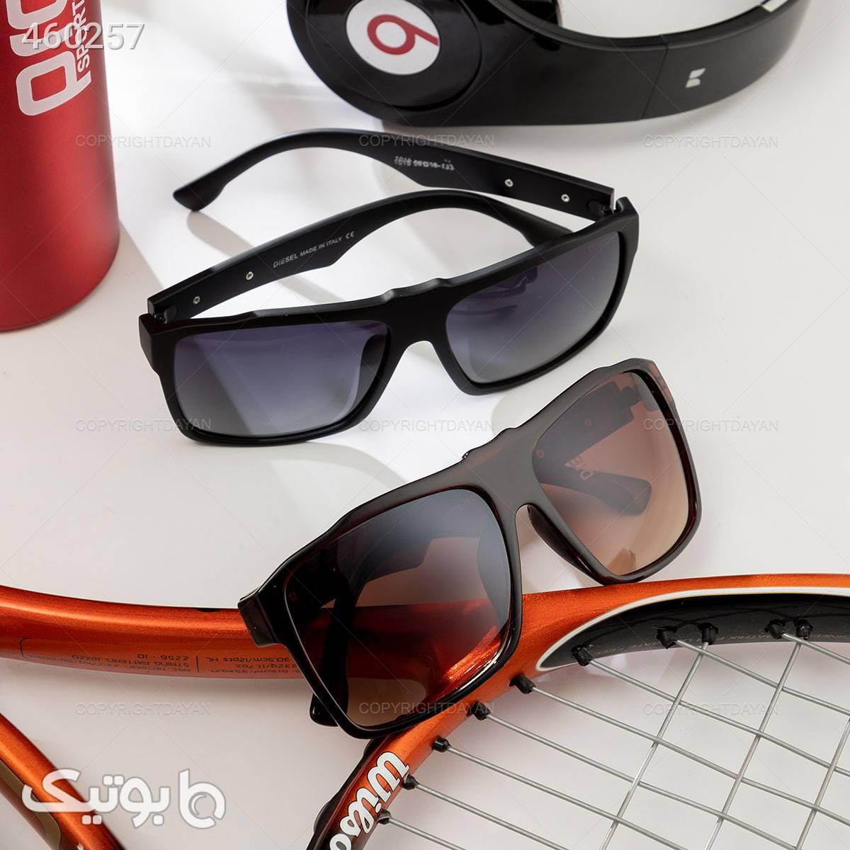 عینک آفتابی Diesel مشکی عینک آفتابی