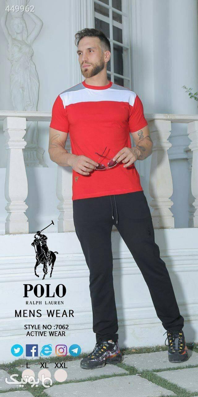 ست Polo زرد لباس راحتی مردانه