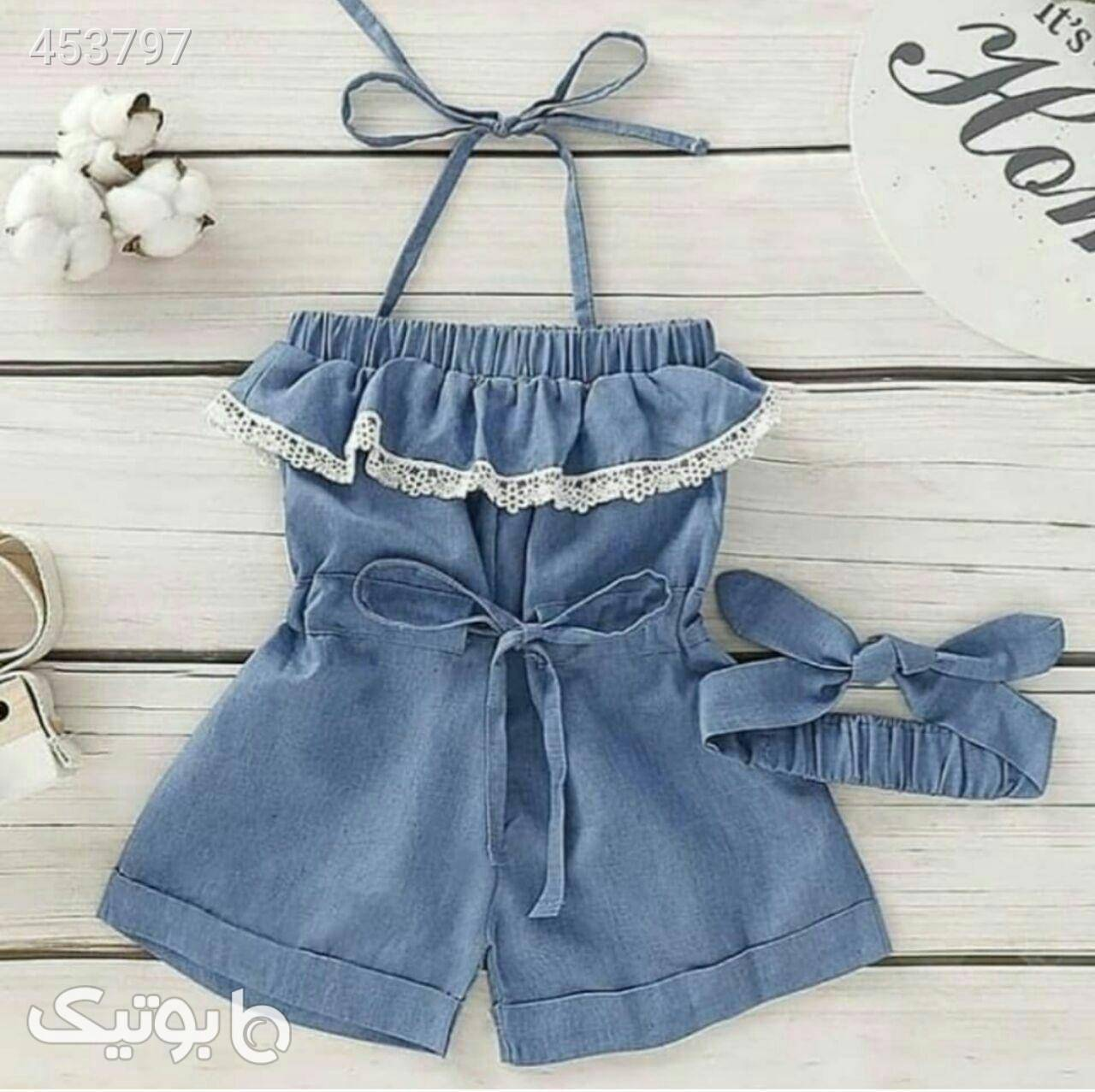 لباس دخترانه آبی از فروشگاه فروشگاه اینترنتی نصف جهان   بوتیک
