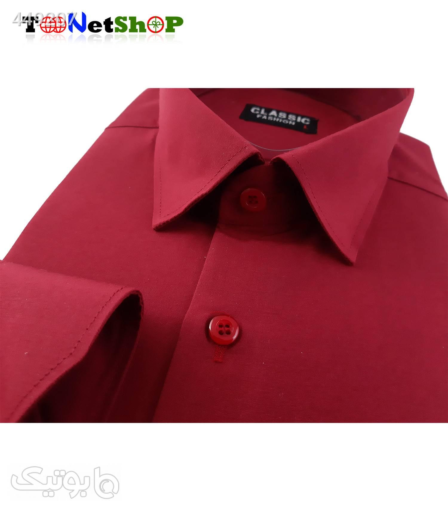 پیراهن مردانه زرشکی کد 2001 زرشکی پيراهن مردانه