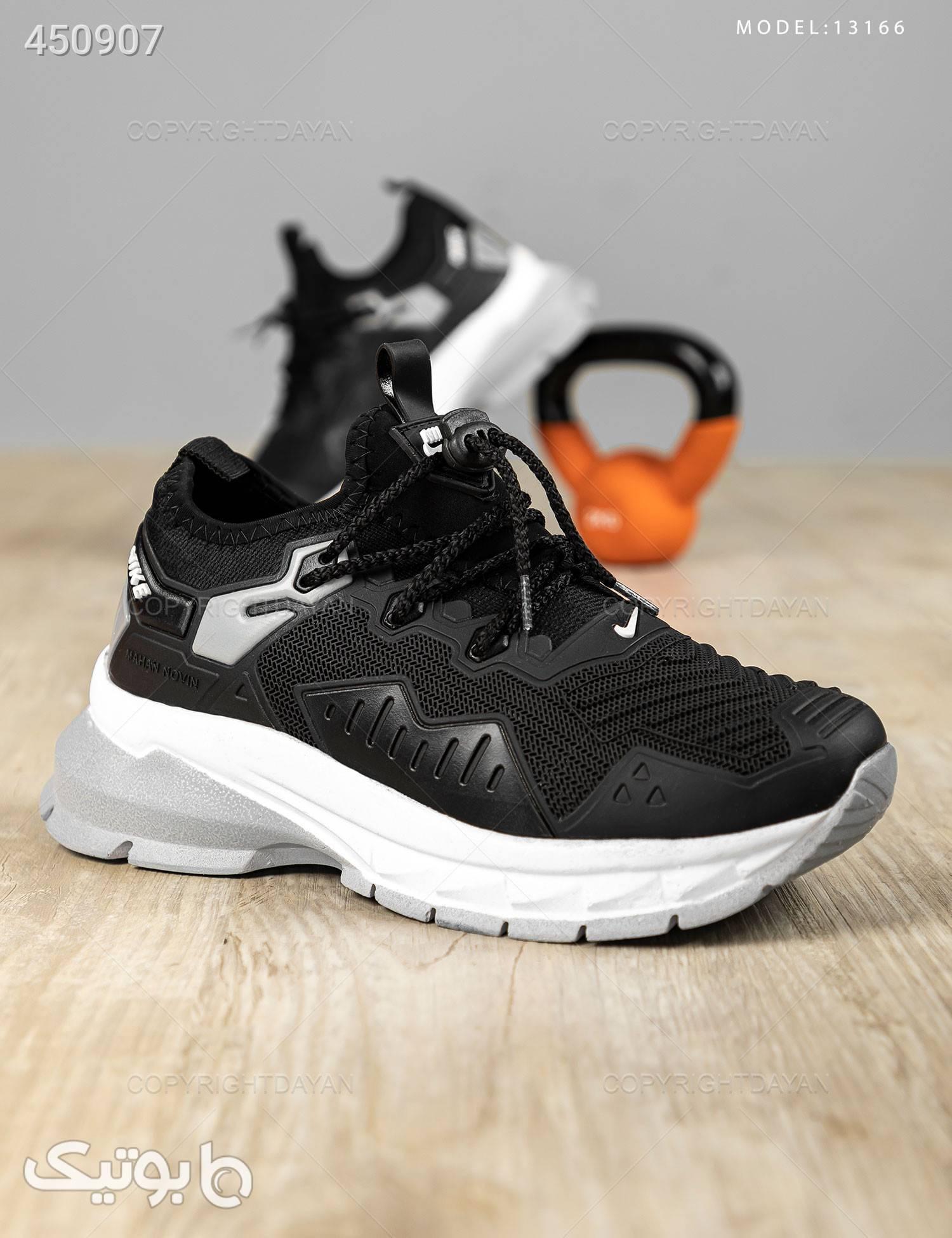 کفش زنانه Nike مدل 13166 مشکی كتانی زنانه