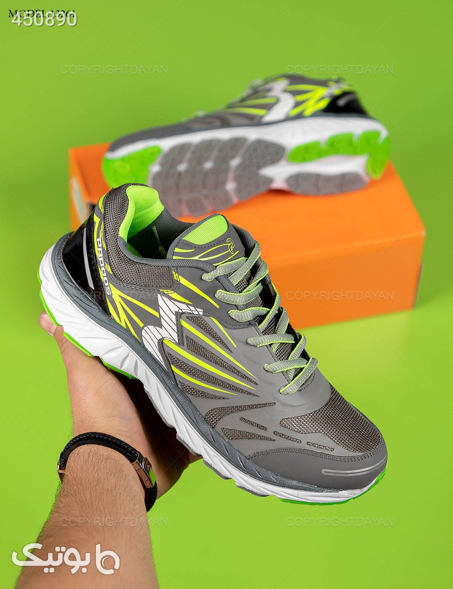 کفش مردانه 361 درجه مدل 13261 طوسی كتانی مردانه