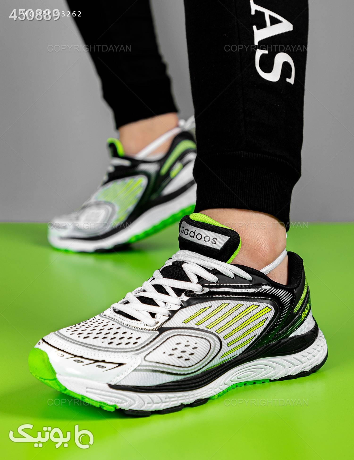کفش مردانه Adidas  مدل 13262 سبز كتانی مردانه