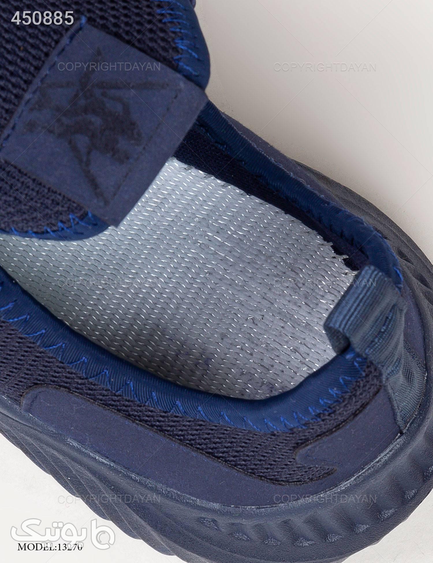 کفش مردانه Denver مدل 13270 سورمه ای كتانی مردانه