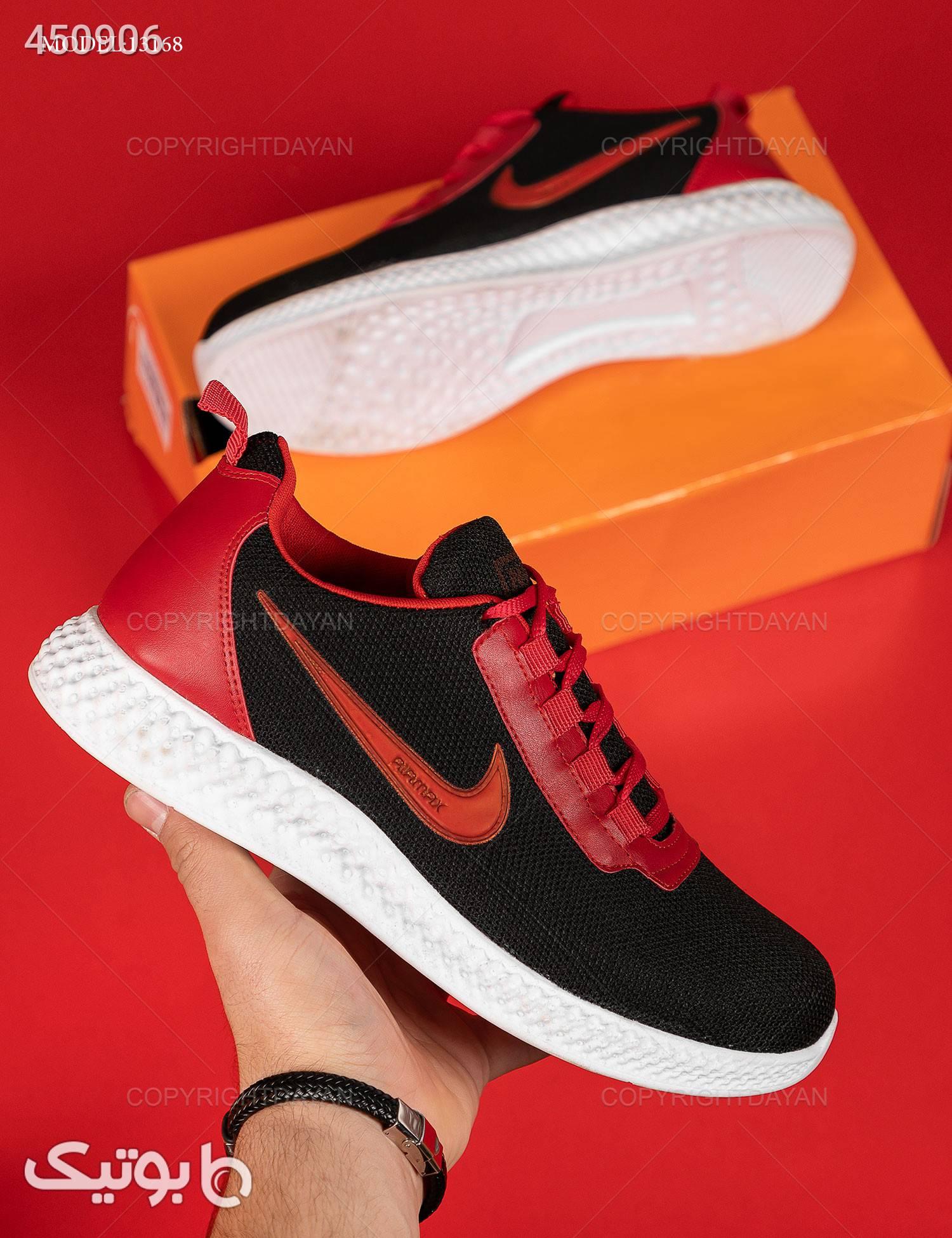 کفش مردانه Nike مدل 13168 مشکی كتانی مردانه