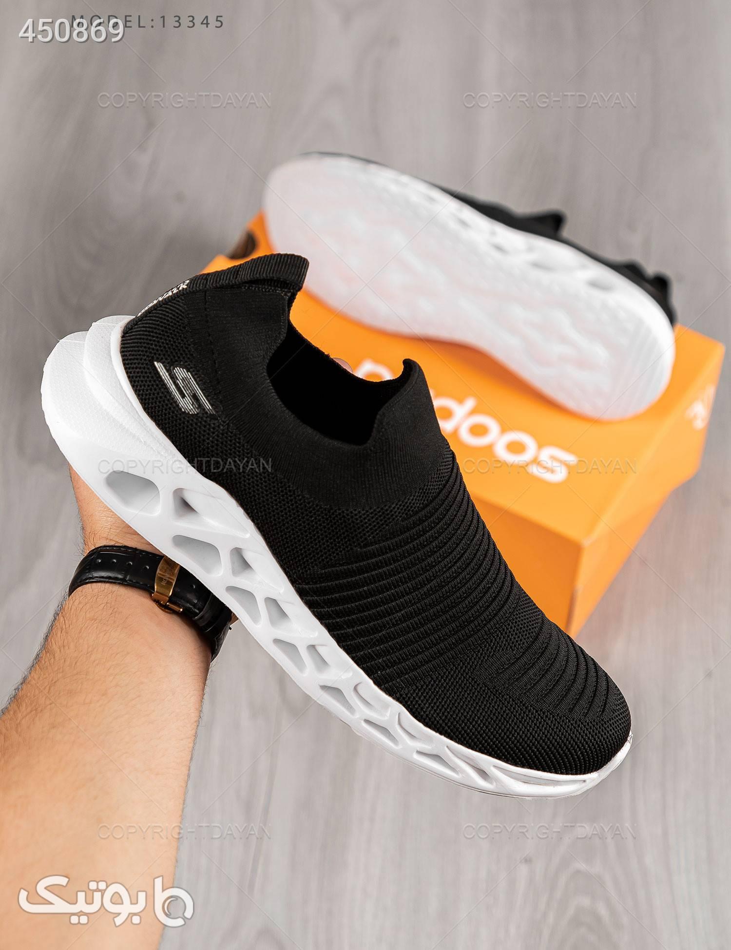 کفش مردانه Skechers مدل 13345 مشکی كتانی مردانه