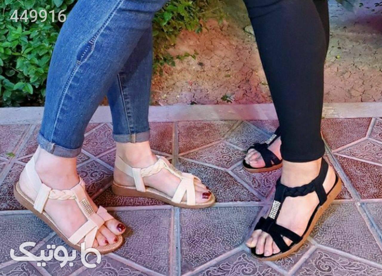 مدل گیسباف مشکی كفش زنانه