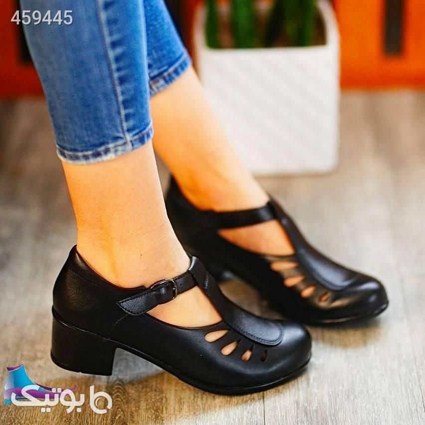 کفش جدید و شیک کد 766 مشکی كفش زنانه