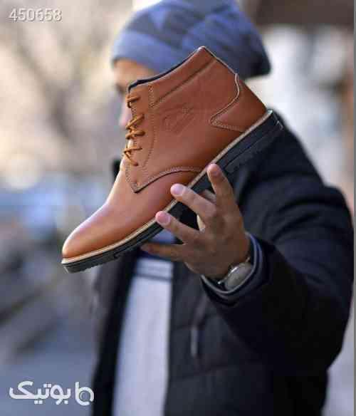 کفش ساقدار مردانه مدل LETO قهوه ای 99 2020