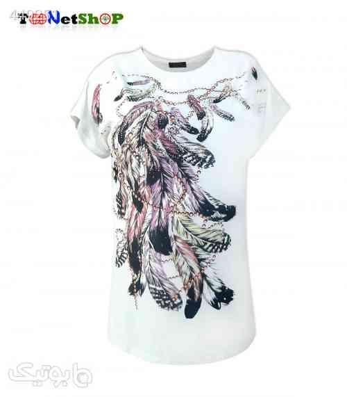 تی شرت سایز بزرگ زنانه کد 1016 صورتی 99 2020