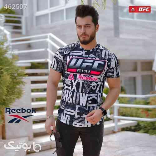 تیشرت مردانه ریبوک مدل UFC مشکی سفید  مشکی 99 2020