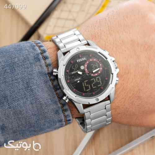 ساعت مچی مردانه Fossil مدل 13237  نقره ای 99 2020