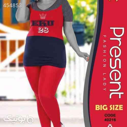 ست خانگی بیگ سایز قرمز 99 2020