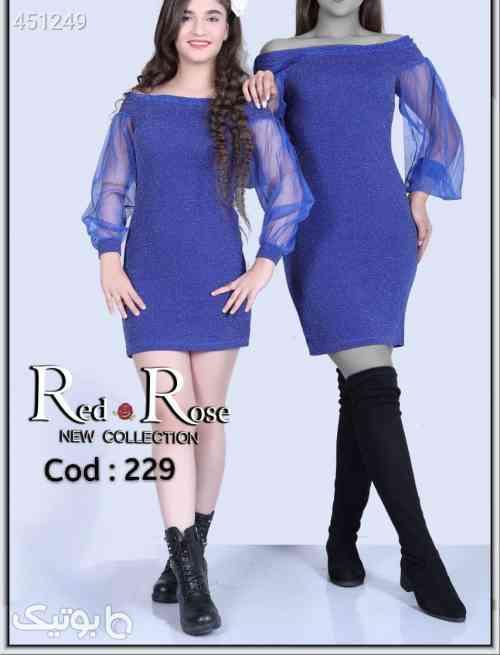 لباس مجلسی بسیارشیک ست مادرودخترپرفروش آبی 99 2020