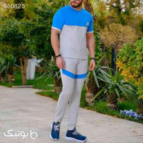 ست تیشرت وشلوار مردانه Nike مدل Jagvar آبی 99 2020