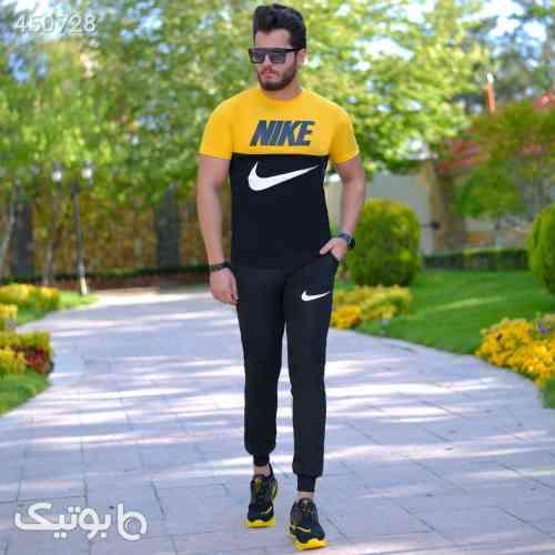 ست تیشرت وشلوار Nike مدل Halako مشکی 99 2020