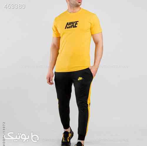 ست تیشرت و شلوار مردانه مدل 13072 زرد 99 2020