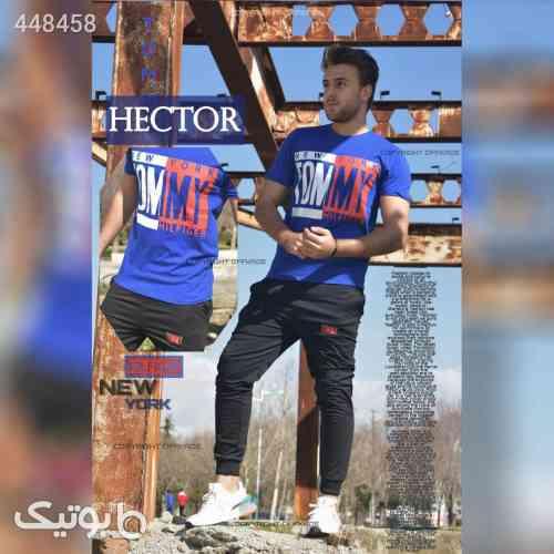 ست تیشرت و شلوار مردانه مدل Hector آبی 99 2020