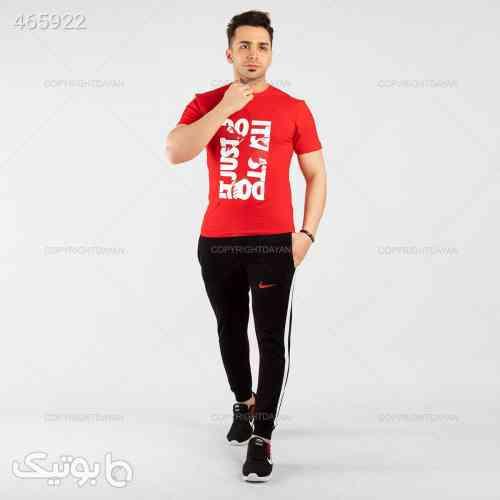ست تیشرت و شلوار مردانه Nike مدل 12785 مشکی 99 2020