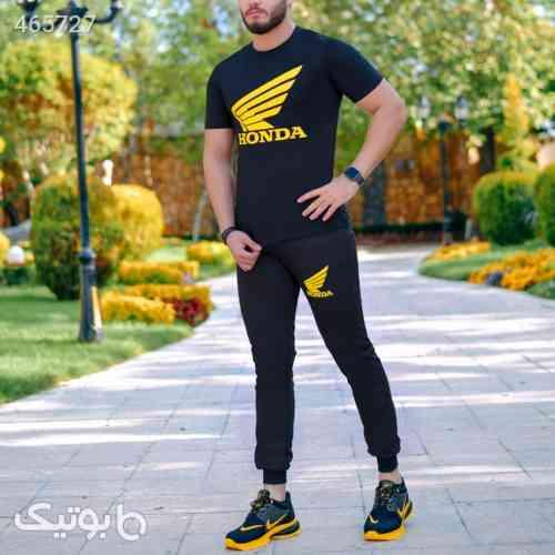 ست تیشرت و شلوار مردانه Nike مدل Jerard مشکی 99 2020