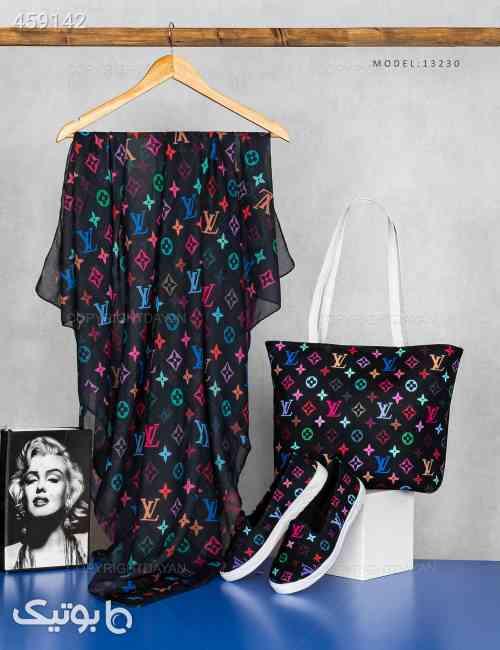 ست سه تیکه زنانه Louis Vuitton مدل 13230 مشکی 99 2020
